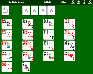La Belle Lucie Solitaire screenshot