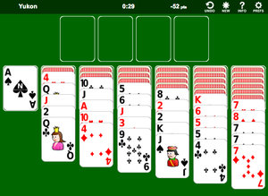 Yukon Solitaire screenshot